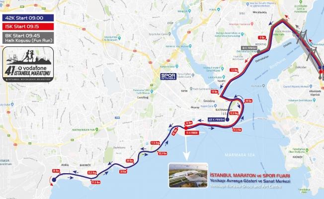 BB_Vodafone 41. İstanbul Maratonu'nda Kapanacak Yollar!