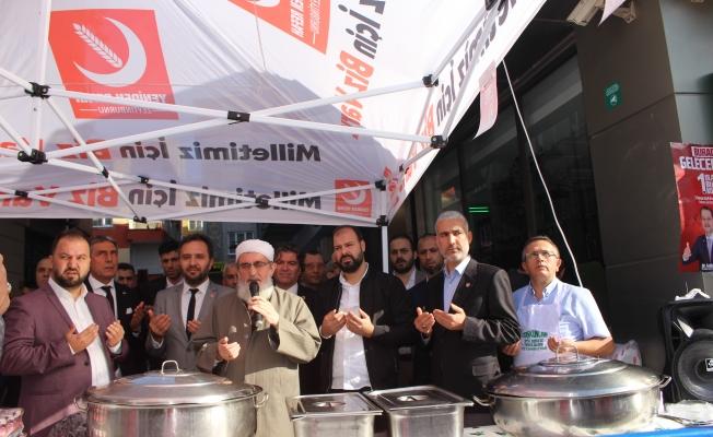 Yeniden  Refah Partisi Mevlid-i Nebiyi Kutladı