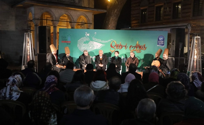 """Eyüpsultan Belediyesinden """"Şeb- i Arus""""programı"""