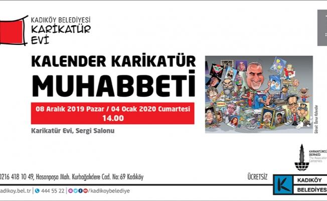 'Kalender Karikatür Muhabbeti' Ahmet Selçuk İlkan'ı Konuk Ediyor