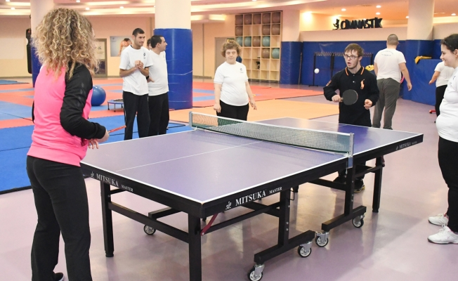 Küçükçekmece Belediyesi'nden Engelsiz Spor Salonu