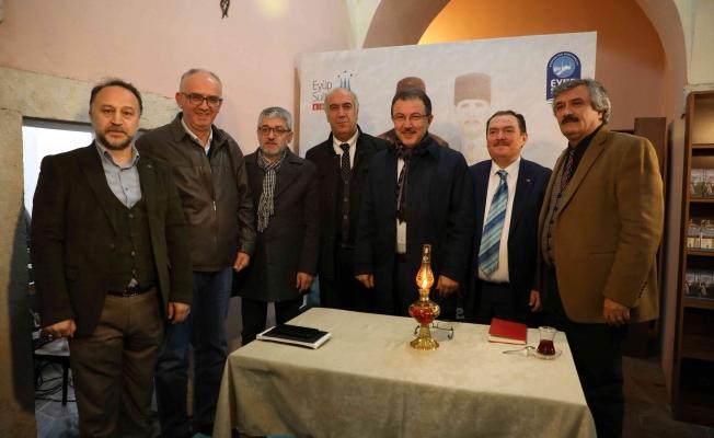 Mehmet Akif Ersoy, Eyüpsultan'da Anıldı