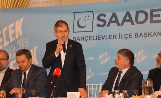 Saadet Partisi Milli Görüşün 50.Yılını Kutluyor