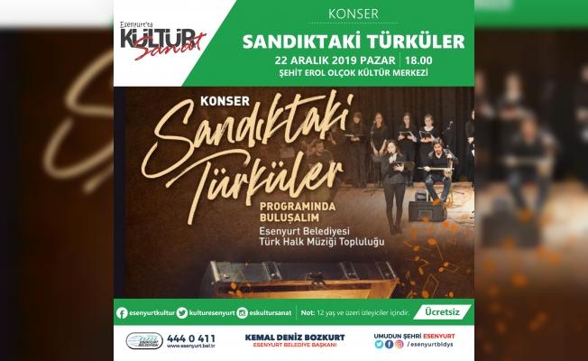 Sandıktaki Türküler Yeniden Hayat Buluyor
