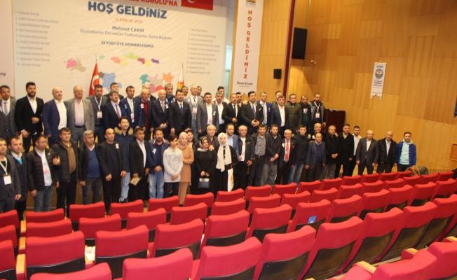 ZEYDEF Kongresinde İpi Mehmet Çakır Göğüsledi