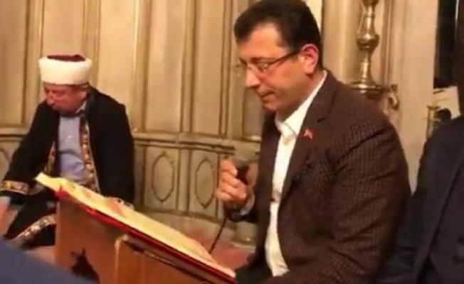 İBB Camİi Temizliği İçin İleri Sürülen İddiaları Red Ederek Açıklama Yaptı
