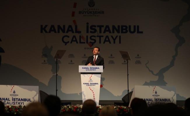 """İmamoğlu'ndan Kanal İstanbul'a """"Mevlana""""lı Yanıt: """"Sözünü Yükselt; Sesini Değil. Yağmurdur Çiçekleri Büyüten; Gök Gürültüsü Değil"""""""