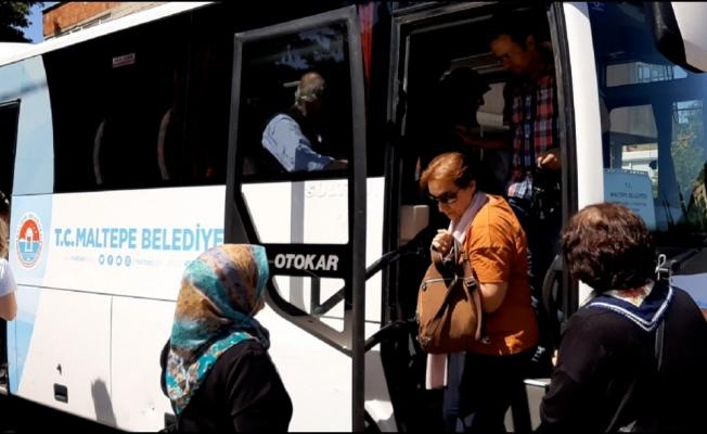 Ücretsiz ulaşım Maltepelilerin hayatını kolaylaştırıyor