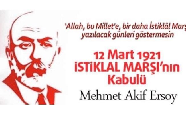 İstiklal Marşı Kabulü'nün 99. yılı!