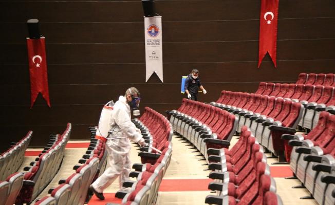 Maltepe Belediyesi'nden koronavirüs önlemi