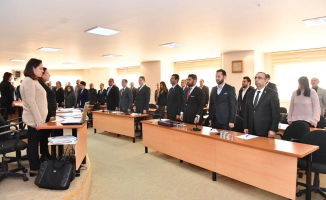 Maltepe Meclisi'nde Şehitler İçin Saygı Duruşu