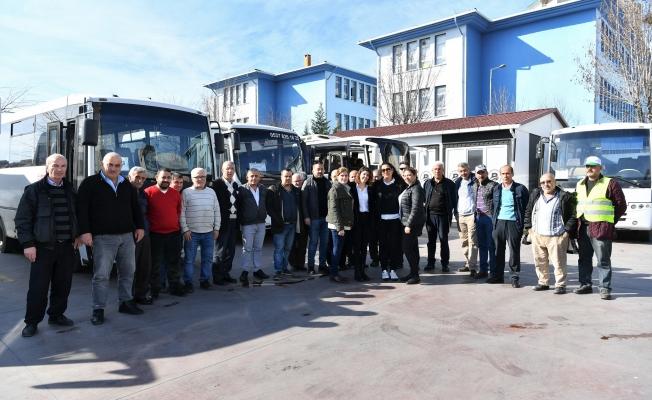 Pazar Servislerinde Kadın Şoför Dönemi