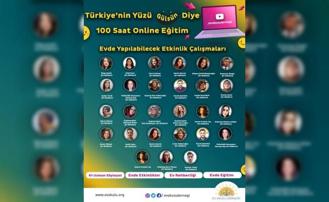 Türkiye'nin Yüzü Gülsün Diye Her Ev Bir Okula Dönüşüyor...