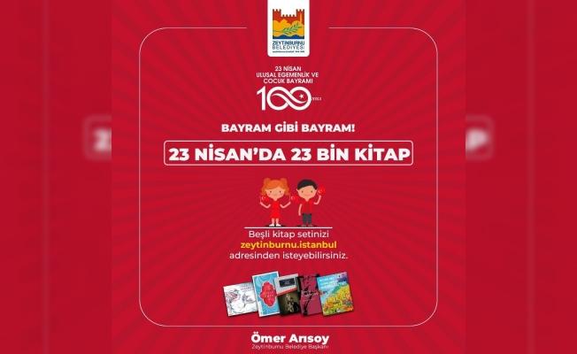 23 Nisan'da 23 Bin Kitap