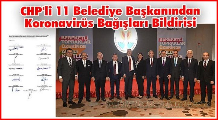 CHP'li 11 Büyükşehir Belediye Başkanından Bloke Edilen Hesaplar İçin Açıklama