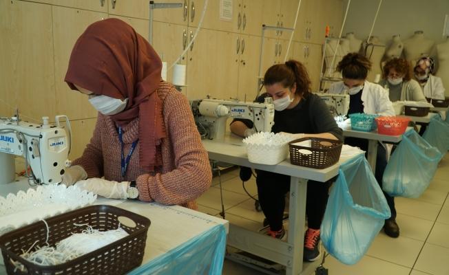İBB'den İstanbullular İçin Maske Üretimi