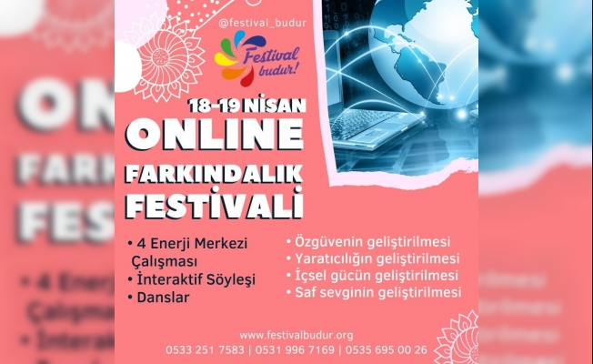 Korona Virüsüne Karşı Online Farkındalık Festivali 18-19 Nisan 2020