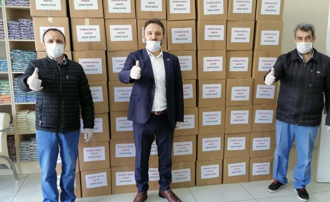 Yeniden Refah Partisi Zeytinburnu İhtiyaç Sahiplerini Unutmadı