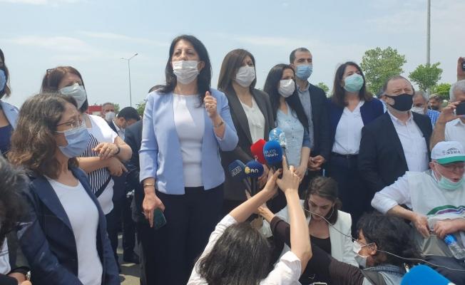 Buldan: Yürüyüşümüz, AKP'nin yoksulluğa, açlığa maruz bıraktığı milyonlar içindir