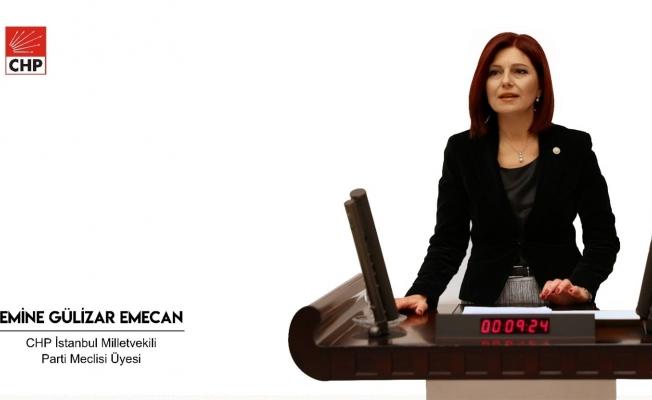 CHP'Lİ vekil Emecan'dan Bakan'a Soru