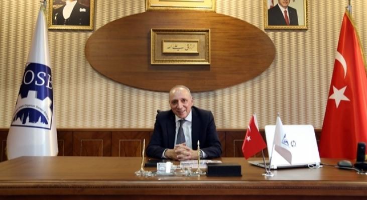 İOSB Başkanı Aydın'dan Kurban Bayramı Mesajı