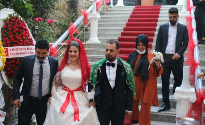 Kader ve Ergin'in Nikahını Başkan Arısoy Kıydı