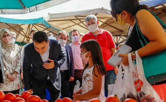 DEVA Partisi Genel Başkanı Ali Babacan'dan Esnaf Ziyareti  ''Çalışıyoruz Siz Seçerseniz Geleceğiz''