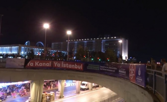 Kanal İstanbul Afişlerine Hukusuz Müdahale