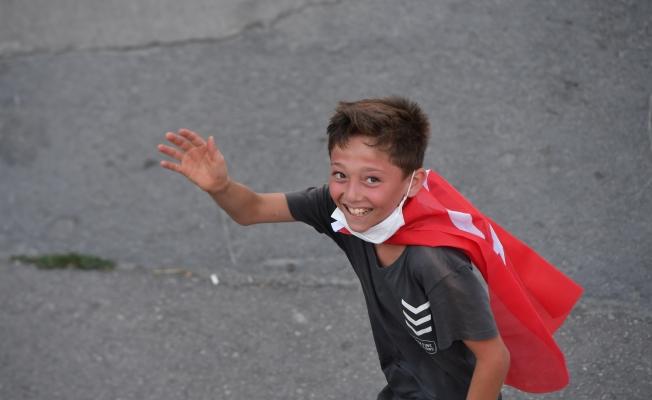 Maltepe'de 30 Ağustos Zafer Turu