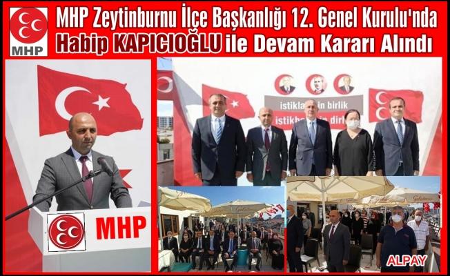MHP'li Delegeler Yeniden Kapıcıoğlu Dedi