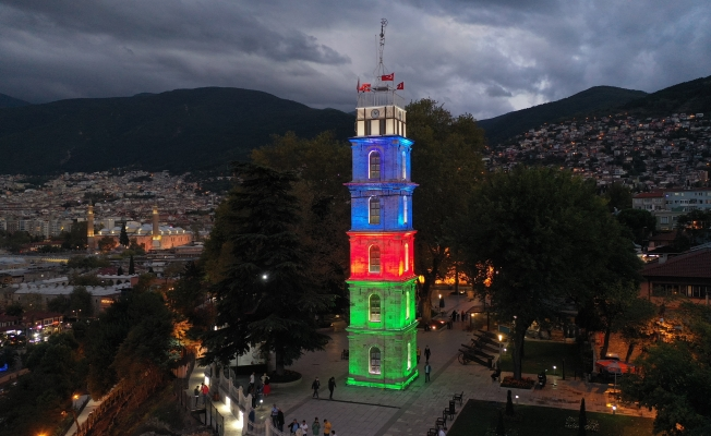 Bursa'dan 'İki Devlet, Tek Millet' Mesajı