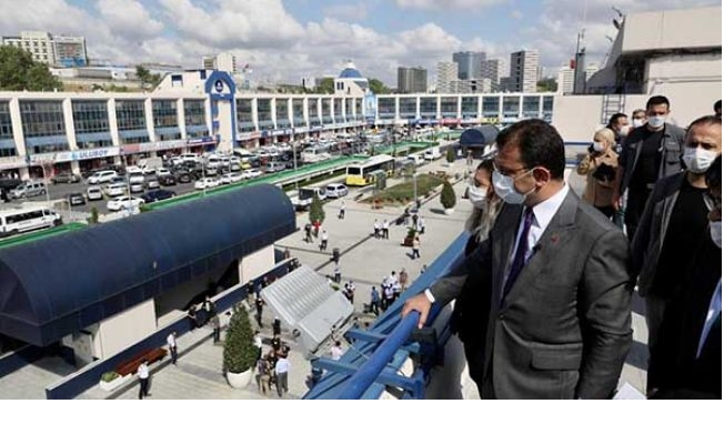 İBB Büyük İstanbul Otogarı'nda Gençlik Ofisi Açtı