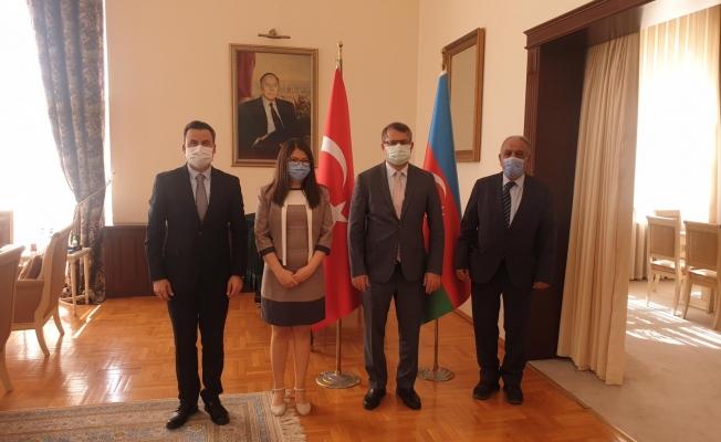 Azerbaycan Türkiye Büyükelçisi'ni Ziyaret Etti