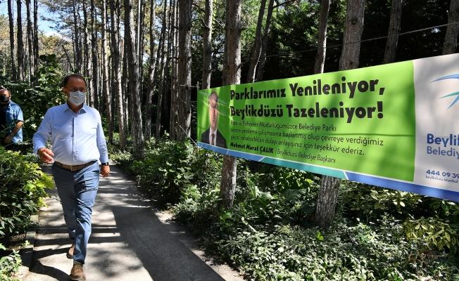 Beylikdüzü'ndeki Parklar Yenileniyor