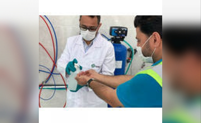 İBB'Den Virüs Ve Bakterilere Karş Çevre Dostu Dezenfektan