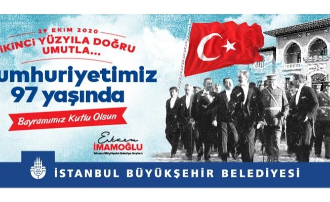İstanbul Cumhuriyet Coşkusuna Hazır