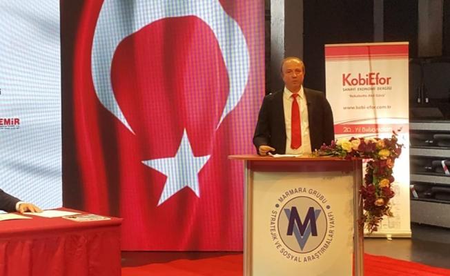 Turan Hançerli, 23. Avrasya Ekonomi Zirvesi'nde Konuştu