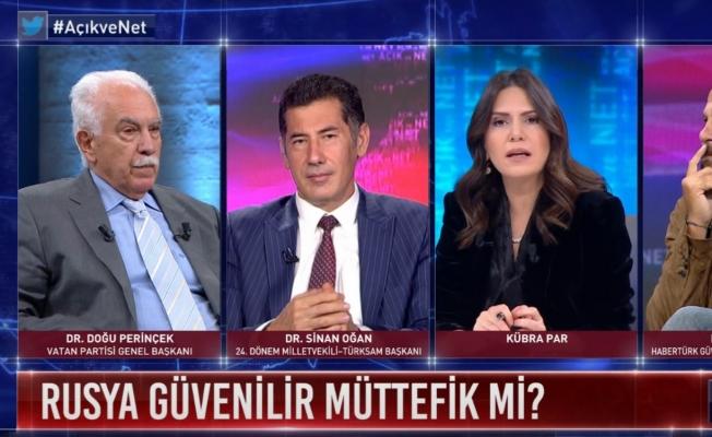 """Vatan Partisi Genel Başkanı Doğu Perinçek:  """"Türkiye Kuşatmayı Rusya'yla Birlikte Yaracak"""""""