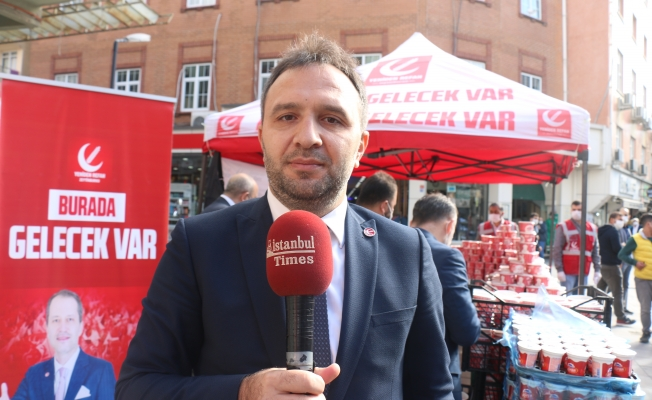 Yeniden Refah Partisi Mevlid-İ Nebi Vesilesi İle Binlerce Kişiye Etli Pilav ve Ayran İkram Etti