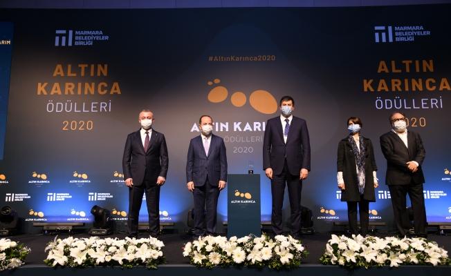Kadıköy Belediyesi'nin 'Sinematek' ve 'Anlat Kadıköy' Projelerine Altın Karınca Ödülü