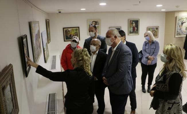 Min-El Mai Resim Sergisi'nin Açılışı Gerçekleştirildi