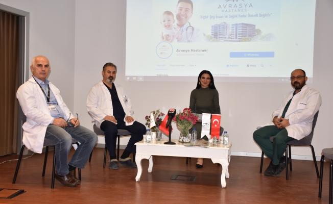 Zeytinburnu Avrasya Hastanesi Dijital Sağlık Panelleri başladı