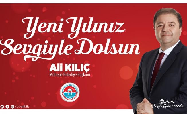 """Başkan Ali Kılıç: """"Acıları 2020'de Bırakalım, 2021 Güzel Günler Getirsin"""""""