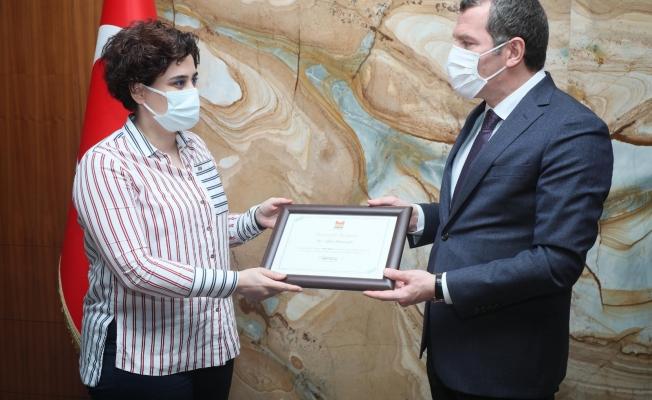 Başkan Arısoy'dan Ödül Alan Projelere Tebrik