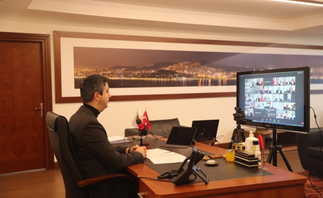 Başkan Gökhan Yüksel, TBB'nin Düzenlediği Konferansta Konuştu