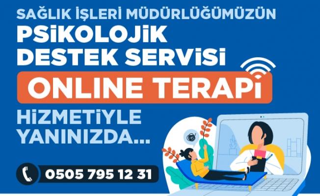 Bayrampaşa Belediyesi'nden Online Terapi Hizmeti
