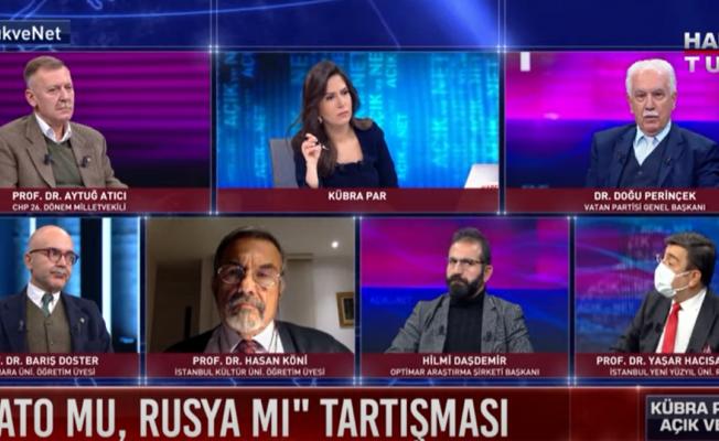 """Doğu Perinçek: """"İncirlik Üssü, Türk Ordusunun Kontrolüne Geçmelidir"""""""