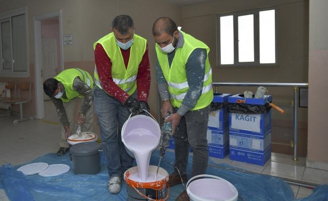 Esenyurt Belediyesi Muhtarlık Binaları Ve Sağlık Ocaklarının Tadilatlarını Yapıyor