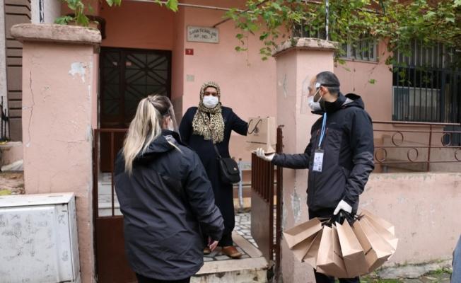Komşu İletişim Merkezi Kartal'da Çalmadık Kapı Bırakmayacak