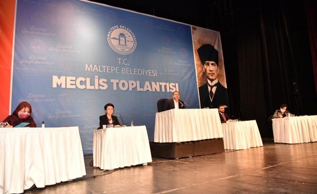 Maltepe Belediye Meclisi Toplandı